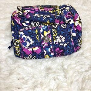 Vera Bradley African Violet Floral Shoulder Bag